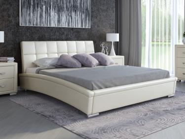 Кровать Corso-1 (Молочный перламутр)