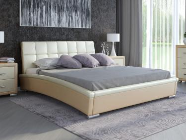 Кровать Corso-1 (Бежевый/молочный перламутр)