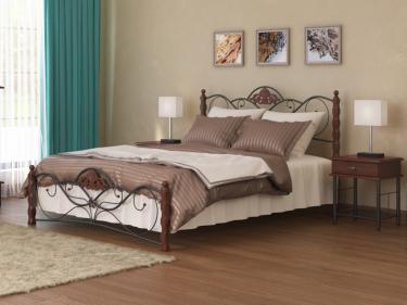 Кровать Garda 2R (орех)