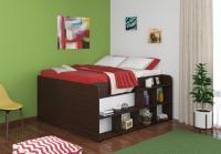 Двуспальная кровать Твист Ап (Twist Up) венге