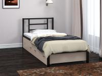 Односпальная металлическая кровать Титан 90