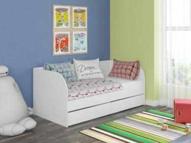 Детская Кровать Golden Kids 7 (корпус белый)