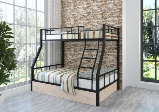 Двухъярусная кровать РАУТА-1 с ящиком