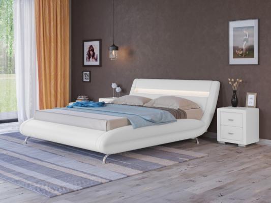 Кровать Corso-7 с орт. основанием (Белый)