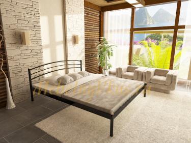 Двуспальная металлическая кровать Eco (Эко)