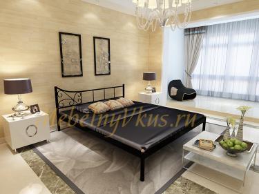 Двуспальная металлическая кровать LILY (Лилия)