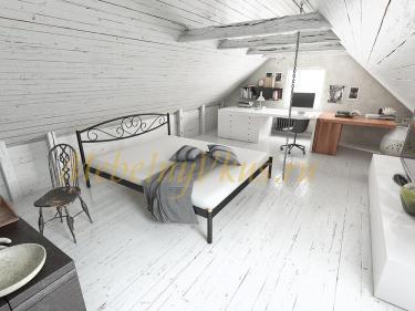 Двуспальная металлическая кровать MEMORY (МЕМОРИ)