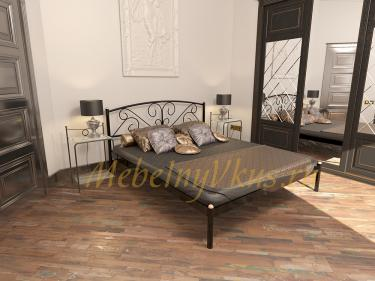 Двуспальная металлическая кровать EVELIN (ЭВЕЛИН)