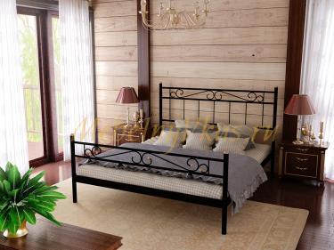 Двуспальная металлическая кровать ESMERALDA (ЭСМЕРАЛЬДА)