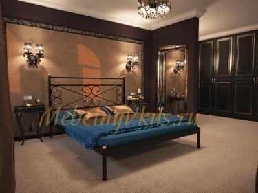 Двуспальная металлическая кровать MARCO (МАРКО)
