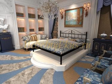 Двуспальная металлическая кровать MARIANA (МАРИАНА)