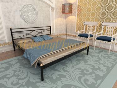 Двуспальная металлическая кровать MIRAGE (МИРАЖ)