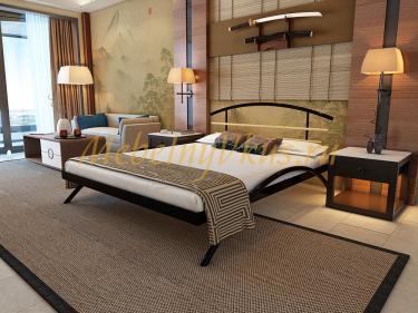 Двуспальная металлическая кровать SACURA (САКУРА)