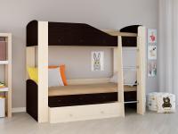Двухъярусная кровать Астра 2 венге
