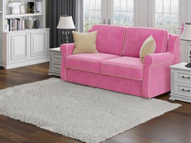 Диван Synergy Grace (Soft 20 Розовый/Soft 2 Светло-бежевый)
