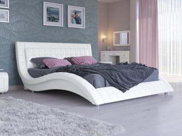 Кровать Атлантико Экокожа (Белый)