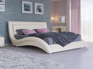 Кровать Атлантико Экокожа (Жемчуг)