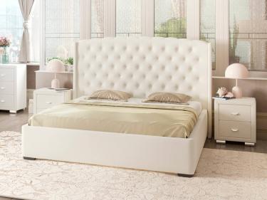 Кровать Dario Slim Lite (белый)