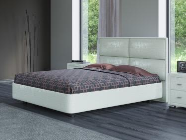 Кровать Rocky 2 (кайман белый)