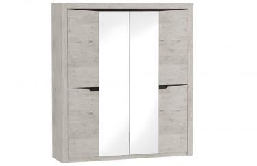 Шкаф 4 дверный Соренто (Дуб Бонифаций)