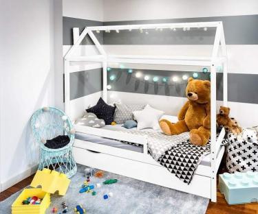 Детская кровать (без матраса) Домик