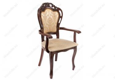 Кресло Bronte вишня / бежевый