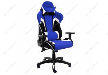 Игровое компьютерное кресло Prime черное / синее