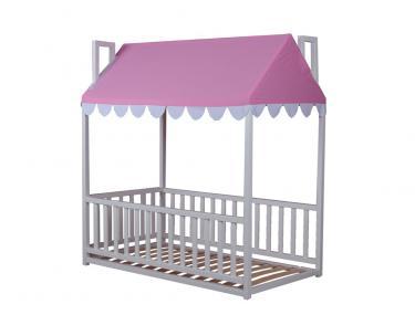 Кровать детская Домовёнок-4 (со шторками)