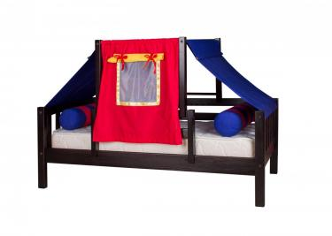 Кровать детская Кнопа (со шторками)