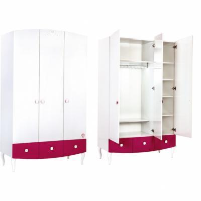 Шкаф трехдверный Yakut 1002