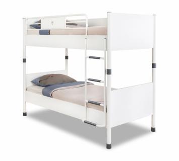 Кровать двухъярусная WHITE 1401