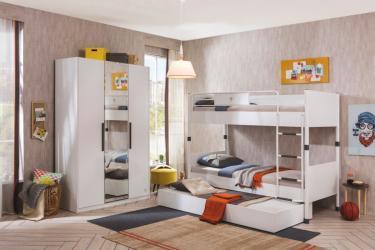 Подростковая комната White вариант 2