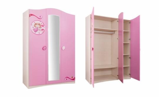 Шкаф трехдверный SL Princess 1002.01