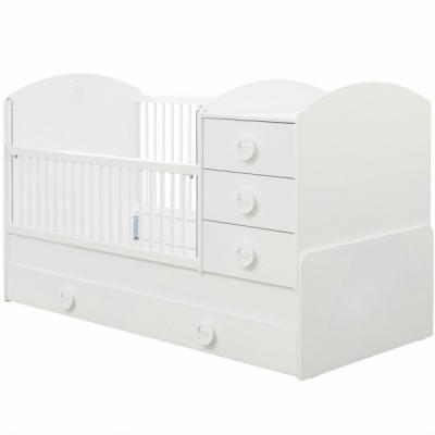 Кровать-трансформер (80х131/80х177) Baby Cotton 1015
