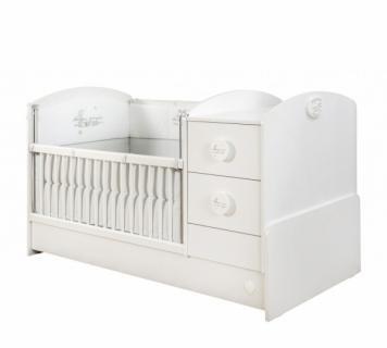 Кровать-трансформер ST (75х160) Baby Cotton 1016