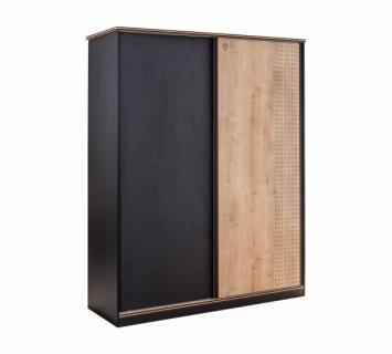 Шкаф большой, со сдвижными дверями Black 1003