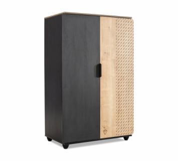 Шкаф двухдверный низкий Black 1004 Compact