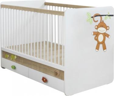Кроватка детская (70х130) Safari Natura 1009