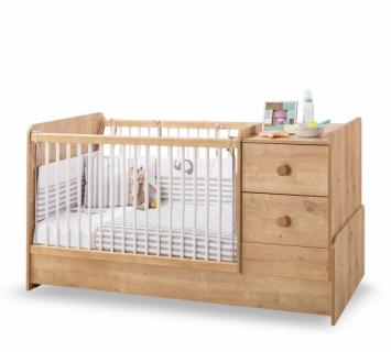 Кровать-трансформер (75х160) Natura Baby ST 1018