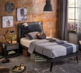 Кровать Line Dark Metal 1308