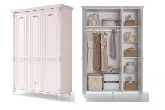 Шкаф трехдверный Romantic 1002.03
