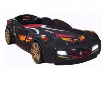 Кровать-машина BiTurbo черная Carbed 1344