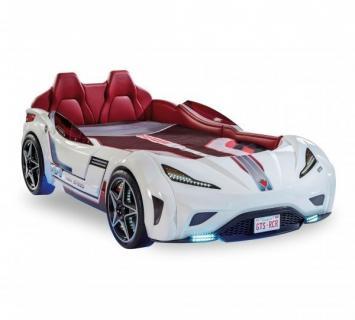 Кровать-машина GTS белая Carbed 1351