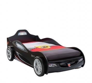 Кровать-машина Coupe черная Carbed 1312
