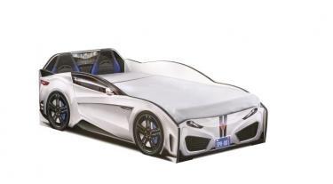 Кровать-машина Spyder белая Carbed 1305