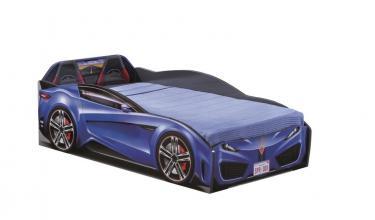 Кровать-машина Spyder синяя Carbed 1307
