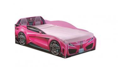 Кровать-машина Spyder розовая Carbed 1308