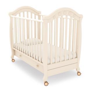 Детская кроватка на колесах Джозеппе (слоновая кость)