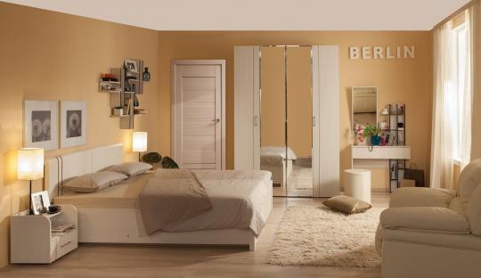 Спальня BERLIN (Бодега светлый)