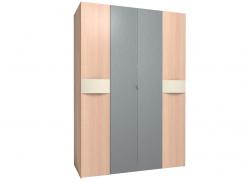 Шкаф для одежды и белья 555 Амели (Дуб Отбеленый)